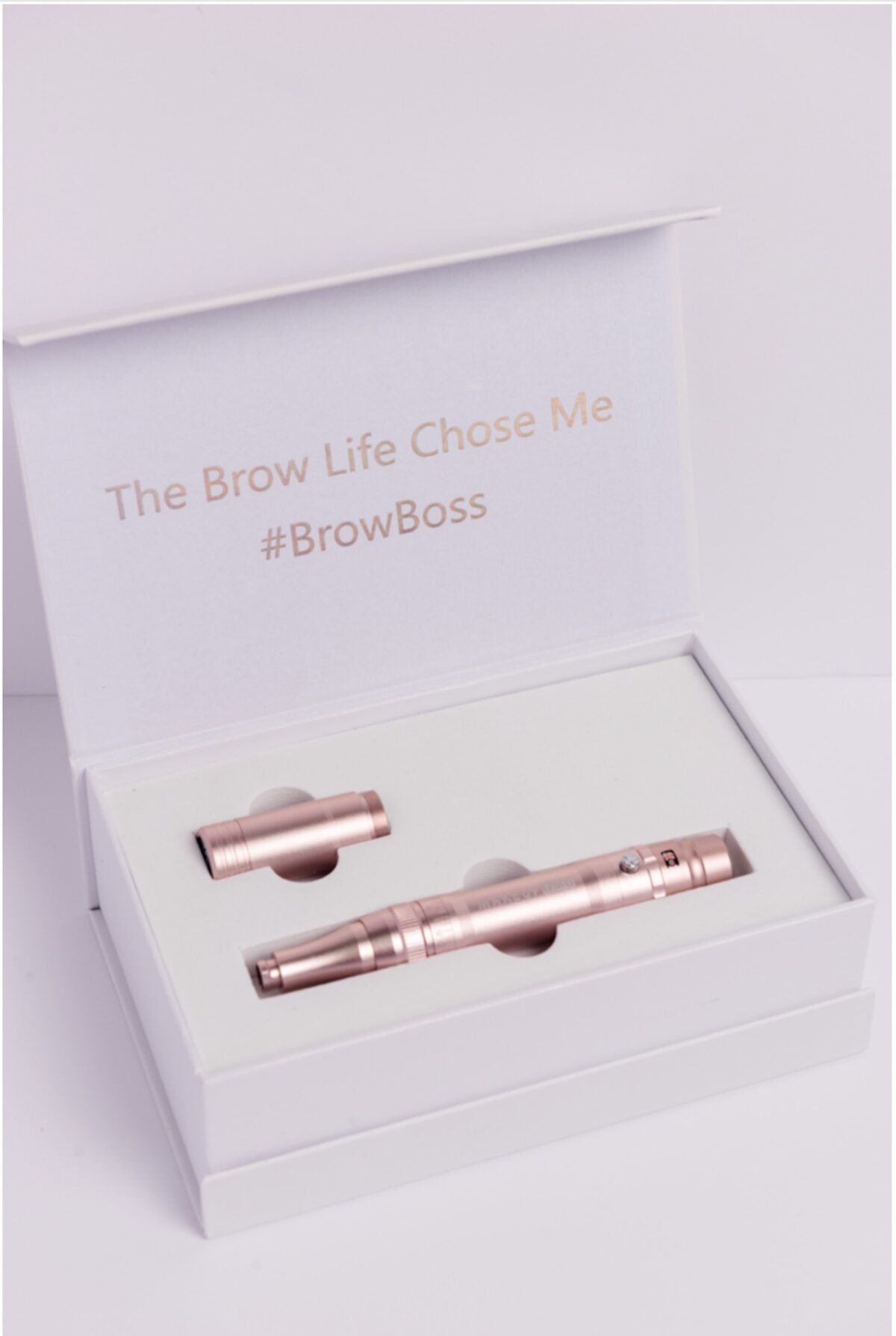 Brow Boss Wireless Permanent Makeup Pen machine and box